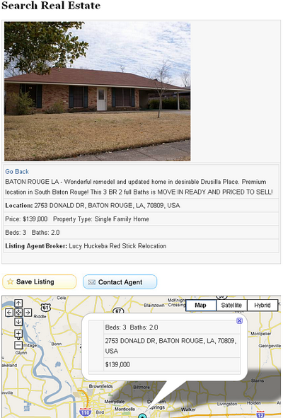 baton rouge real estate search