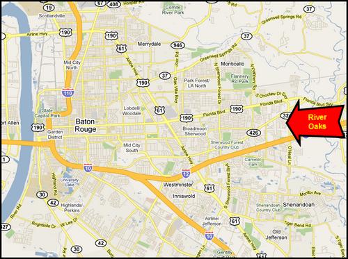 River Oaks Subdivision 70819 Baton Rouge