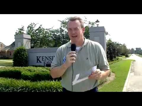 Baton Rouge Real Estate Minute Video: Kensington Estates Subdivision 2010 Report