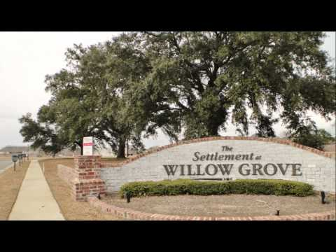 Baton Rouge Real Estate: The Settlement At Willow Grove Subdivision Tour January 2011