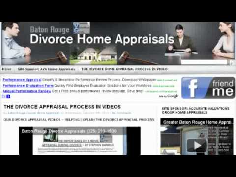Greater Baton Rouge Divorce Home Appraisals By Accurate Valuations Group 225-293-1500