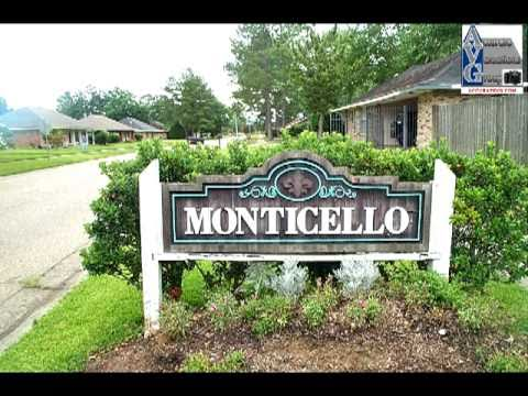 Baton Rouge Real Estate Minute: Monticello Subdivision 2010 Update