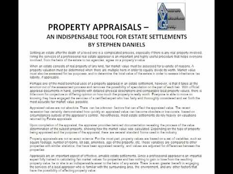Estate Settlement Appraisers In Baton Rouge Appraisals