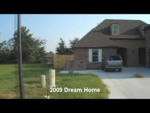 Baton Rouge St Jude Dream Home August 2009 Construction Update Long Version