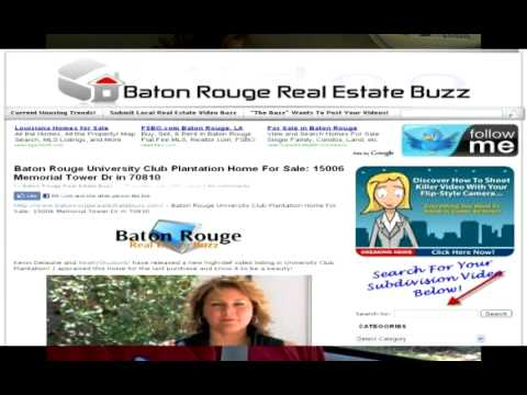 Baton Rouge Real Estate Buzz: Riverbend Mid Year 2010 Update
